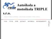 WEBOVÁ STRÁNKA Autoškola a motoškola TRIPLE s.r.o.