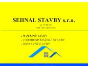 WEBOVÁ STRÁNKA SEHNAL STAVBY s.r.o.