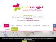 WEBOVÁ STRÁNKA MALÉ ZDRAVÍ a.s. praktičtí lékaři pro děti a dorost