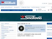 WEBOVÁ STRÁNKA SMALTOVNA TUPESY, a.s.
