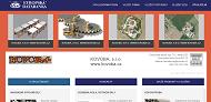 SITO WEB KOVOBA, s.r.o. www.kovoba.cz