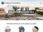 WEBOVÁ STRÁNKA STETSYSHYN s.r.o. stavební práce