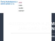 WEBOVÁ STRÁNKA Černý-Autodoprava a zemní práce s.r.o.