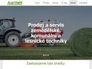 WEBOVÁ STRÁNKA Agriten Trutnov s.r.o. zemědělské stroje