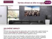 WEBOVÁ STRÁNKA Skleněné obrazy Marta Nádeníčková