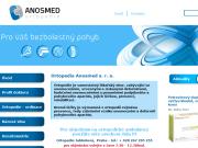 WEBOVÁ STRÁNKA ANOSMED s.r.o. ortopedie