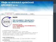 SITO WEB ARCHGEO s.r.o. Mereni radonu Zlin