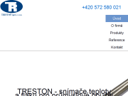 WEBSITE TRESTON spol. s r.o.