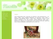 WEBOVÁ STRÁNKA Květinářství Kamélie Alena Zbranková