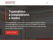 WEBOVÁ STRÁNKA PAVELKA - VTP s.r.o.