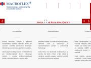 WEBOVÁ STRÁNKA MACROFLEX s.r.o.