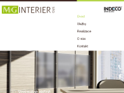WEBSITE MG - INTERIER s.r.o. www.skrinezlin.cz