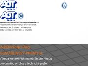 SITO WEB Asociace gumarenske technologie Zlin s.r.o. AGT Zlin
