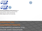WEBSEITE Asociace gumarenske technologie Zlin s.r.o. AGT Zlin
