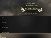 WEBOV� STR�NKA KONKORDIA Poh�ebn� �stav Zden�k Melich�rek