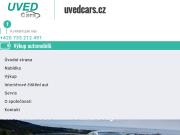 WEBOVÁ STRÁNKA UVED Cars s.r.o.