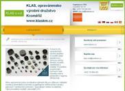 WEBOVÁ STRÁNKA KLAS, oprav�rensko v�robn� dru�stvo Krom��� www.klaskm.cz