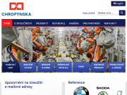 WEBSITE Chropynska strojirna, a.s.