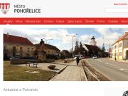 SITO WEB Mesto Pohorelice Mestsky urad Pohorelice