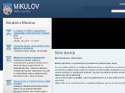 WEBOVÁ STRÁNKA Město Mikulov Městský úřad Mikulov