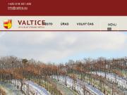 WEBOVÁ STRÁNKA Město Valtice