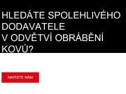 WEBOVÁ STRÁNKA Kovoobrábění Korvas s.r.o.