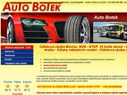 WEBOVÁ STRÁNKA Auto Botek & syn- Odtahová služba Břeclav