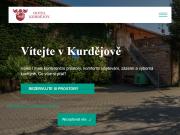 WEBOVÁ STRÁNKA Hotel Kurdějov a.s. Konferenční a relaxační centrum