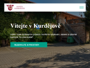 WEBOVÁ STRÁNKA Kongresové a relaxační centrum Hotel Kurdějov a.s.