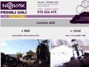 WEBOVÁ STRÁNKA Uhelné sklady Petr Novák