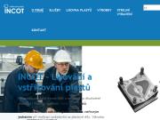 WEBOVÁ STRÁNKA INCOT PLASTIC s.r.o. - vstřikování plastů