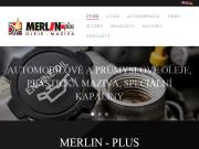 WEBOVÁ STRÁNKA MERLIN-PLUS spol. s.r.o.