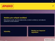 WEBOVÁ STRÁNKA AMAKO, spol. s r.o.