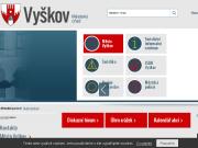 SITO WEB Mesto Vyskov