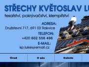 SITO WEB Kvetoslav Lukes Klempirstvi, pokryvacstvi, tesarstvi