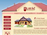 WEBOVÁ STRÁNKA Klempířství, pokrývačství, kontejnerová doprava Josef Hlaváč