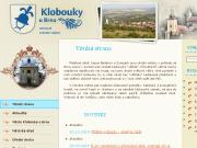 WEBOVÁ STRÁNKA Město Klobouky u  Brna Městský úřad Klobouky u Brna