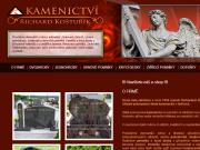 SITO WEB Kamenictvi Kosturik Richard Kosturik