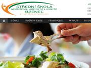 WEBOVÁ STRÁNKA Střední škola gastronomie, hotelnictví a lesnictví Bzenec, příspěvková organizace