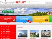 SITO WEB Znojemske reality Realitni kancelar Alexandr Frind