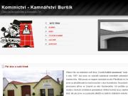 WEBOVÁ STRÁNKA Kominictví a kamnářství Pavel Buršík