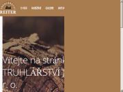 WEBOVÁ STRÁNKA Truhlářství Josef Reiter, s. r. o.