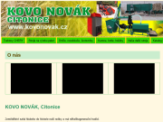 SITO WEB Kovo Novak Jan Novak