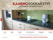 WEBOVÁ STRÁNKA Kamenosochařství Benešovský Antonín