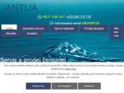 WEBOVÁ STRÁNKA Antlia Prodej a opravy čerpadel