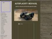 WEBOVÁ STRÁNKA Autoplachty Nekvasil