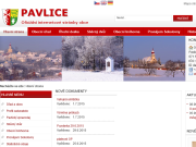 WEBOVÁ STRÁNKA Obec Pavlice Obecní úřad