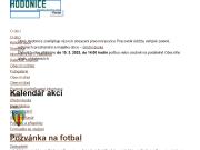 WEBOVÁ STRÁNKA Obec Hodonice Obecní úřad