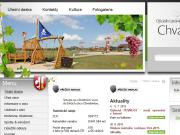 WEBOVÁ STRÁNKA Obec Chvalovice Obecní úřad