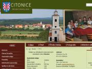 WEBOVÁ STRÁNKA Obec Citonice Obecní úřad